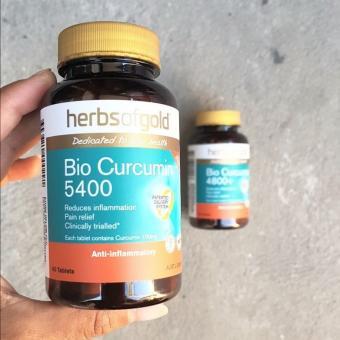 Herbs of Gold Bio Curcumin 5400 | Turmeric 4800